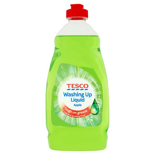 Tesco Wash Up Liquid Apple 450Ml