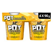 Pot Noodle Original Curry 4 X 90G