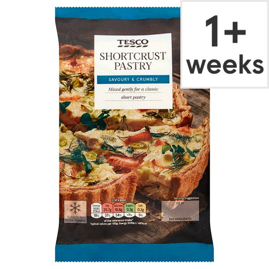 Tesco Shortcrust Pastry 500G
