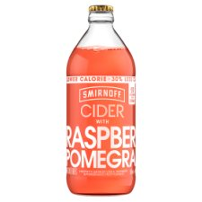 Smirnoff Raspberry And Pomegranate Cider 500Ml