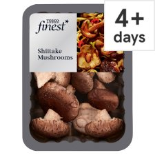 Tesco Finest Shiitake Mushrooms 125G