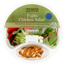 Tesco Fajita Chicken Salad 200G