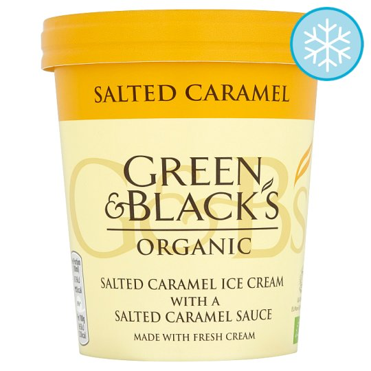 Green & Black Organic Salted Caramel Ice Cream 500Ml
