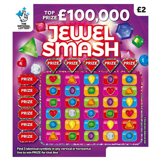Jewel Smash Scratchcard