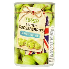Tesco British G/Berries In Light Syrup 290G