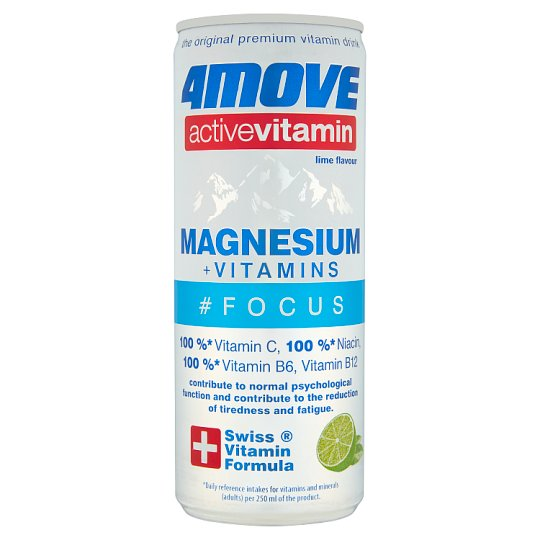 4Move Active Magnesium Vitamin Drink 250Ml