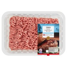 Tesco Pork Mince 10% Fat 850G