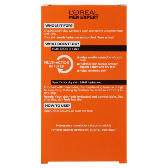 Loreal Men 100Ml 24 Hour Hydrating Post Shave Balm