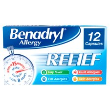 Benadryl Allergy Relief 12S
