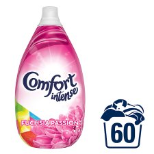 Comfort Intense Fuchsia Passion Fabric Conditioner 900Ml