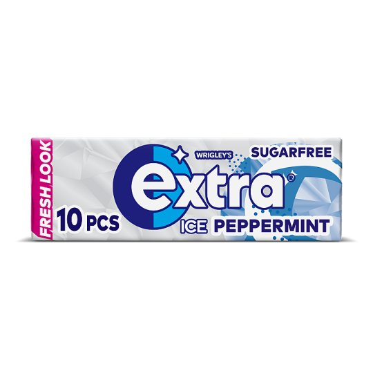Extra Ice Peppermint Gum 10 Pieces