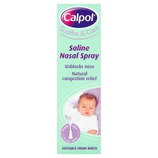 image 1 of Calpol Saline Nasal Spray 15Ml