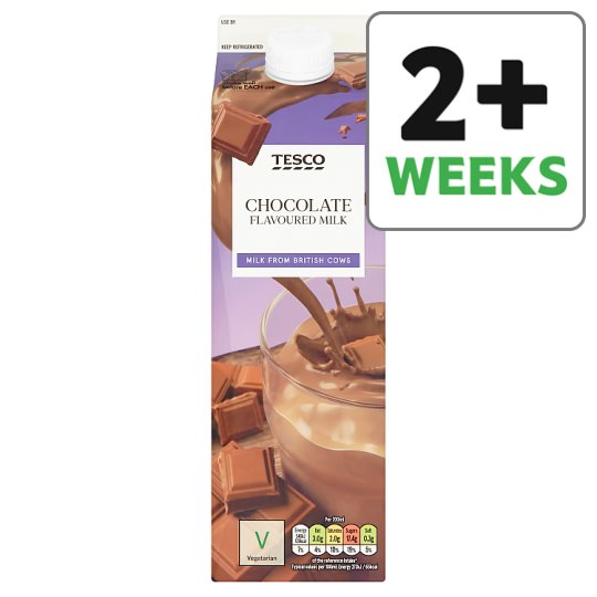 Tesco Chocolate Flavoured Milk 1L