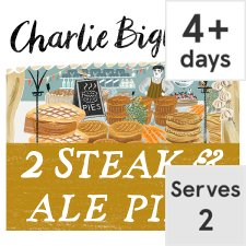 Charlie Bigham's Steak & Ale Pies 600G