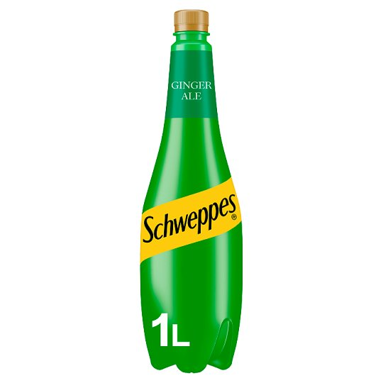 Schweppes Canada Dry Ginger Ale 1Ltr