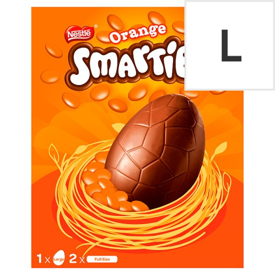 image 1 of Nestle Smarties Large Orange Egg 256G