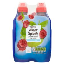 Tesco Still Water Apple And Raspberry 4X300ml