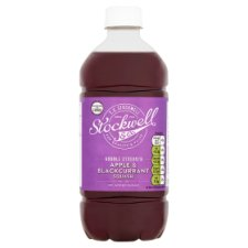 Stockwell And Co Apple And Blackcurrant No Added Sugar Squash 750Ml