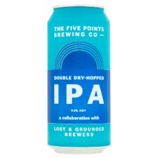 Fivepoints &Lost Grounded Double Dry Hopped 440Ml