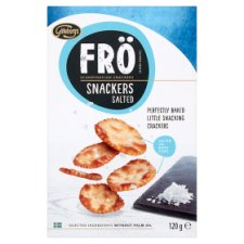 Fro Snackers With Salt 120G
