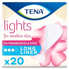 Lights By Tena Long Bladder Weakness Liners 20 Pack