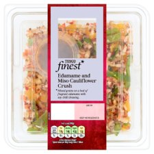 Tesco Finest Edamame And Cauliflower Crush 210G