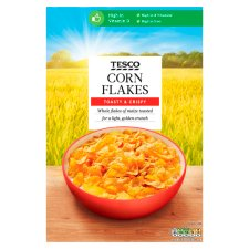 Tesco Corn Flakes Cereal 750G
