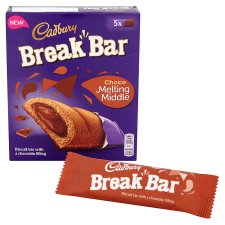 image 2 of Cadbury Break Bar Chocolate 130G