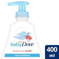 Baby Dove Rich Moisture Head To Toe Wash 400Ml