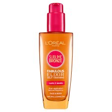 L'oreal Sublime Self Tanning Elixir 100Ml
