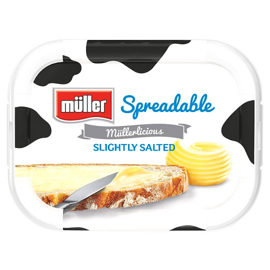 Muller Lightly Salted Spreadable Butter 400G