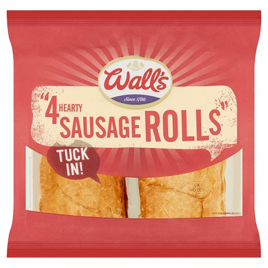 image 1 of Walls 4 Sausage Rolls 240G