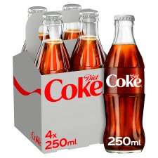 Diet Coke 4X250ml
