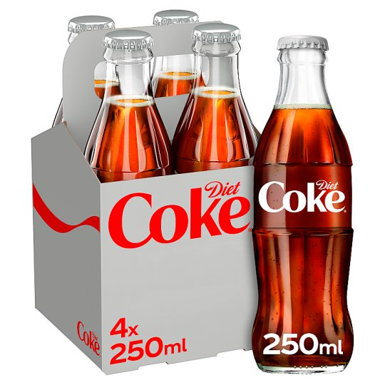 image 1 of Diet Coke 4X250ml