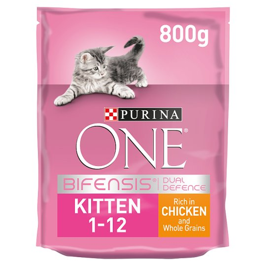 image 1 of Purina One Kitten Junior Chicken And Whole Grains 800G