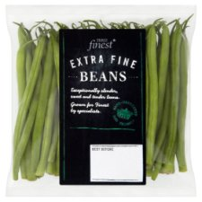 image 1 of Tesco Finest Extra Fine Beans 220G