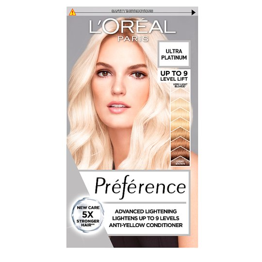 image 1 of L'oreal Paris Preference Color Extreme Platinum