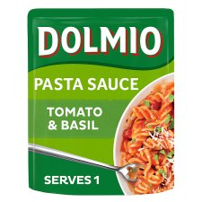 Dolmio Tomato And Basil Pouch Pasta Sauce 170G