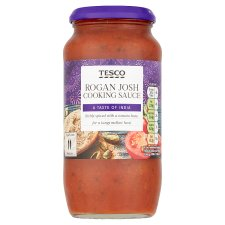 Tesco Rogan Josh Cooking Sauce 500G