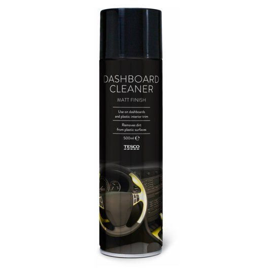 Tesco Dashboard Cleaner Matte 500Ml