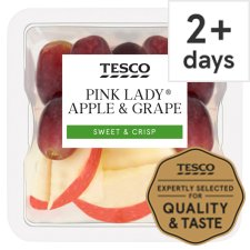 Tesco Pink Lady Apple And Grape Pot 100G
