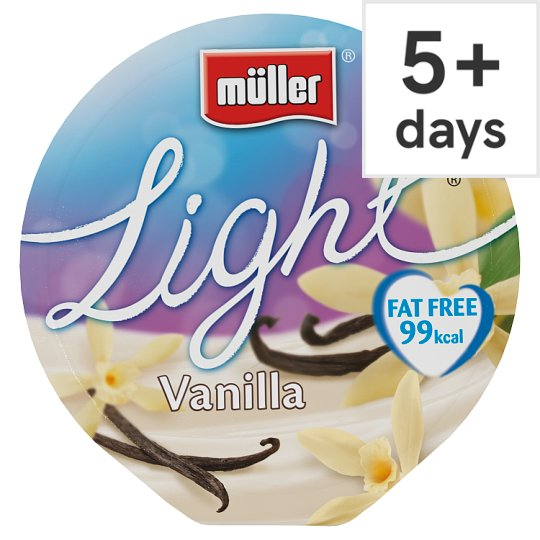 Muller Light Vanilla Yogurt 175G