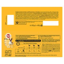 image 3 of Pedigree Loaf Dog Food Pouches 4 Pack