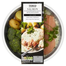 Tesco Salmon Watercress With Potatoes 400G