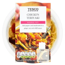 Tesco Snack Pot Teriyaki Chicken Noodles 280G