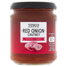 Tesco Red Onion Chutney 295G