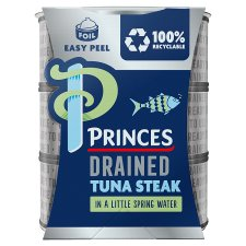 image 1 of Princes Drained Tuna Steak In Spring Water 3X110g