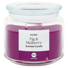 Tesco Fig And Mulberry 11Oz Candle Jar