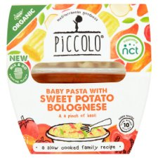 image 1 of Piccolo Organic Baby Pasta Sweet Potato Bolognese 180G