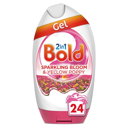 Bold 2 In 1 Bloom And Yellow Poppy 888Ml